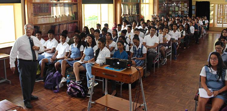 Session d'explications aux éventuels participants