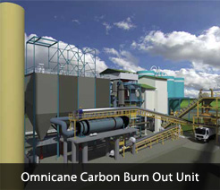 Omnicane Carbon Burn Out Unit